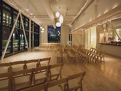 Eco Friendly Wedding Venue Chicago Greenhouse Loft